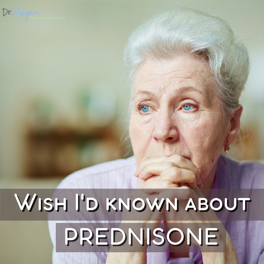 What I Wish I'd Known Before Taking Prednisone