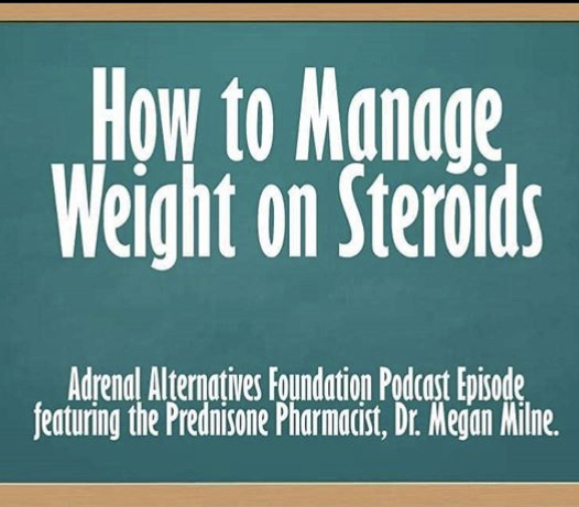 Prednisone Podcasts – Adrenal Insufficiency Support