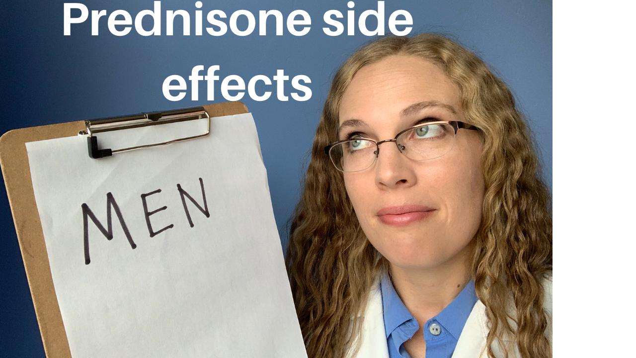 Prednisone Side Effects in Men – Adverse Effects of Prednisone in Males