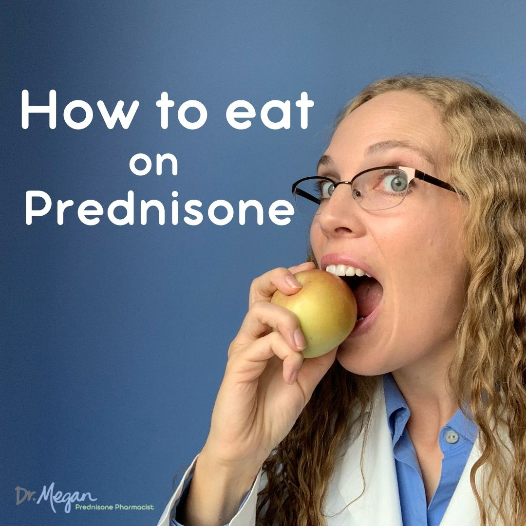 How to Eat the Nutrients you Need – Stop the Prednisone Weight Gain!