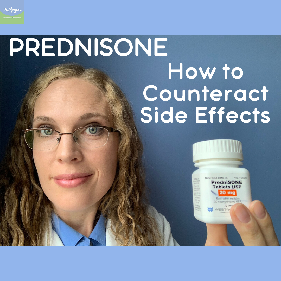 How to Counteract Prednisone Side Effects