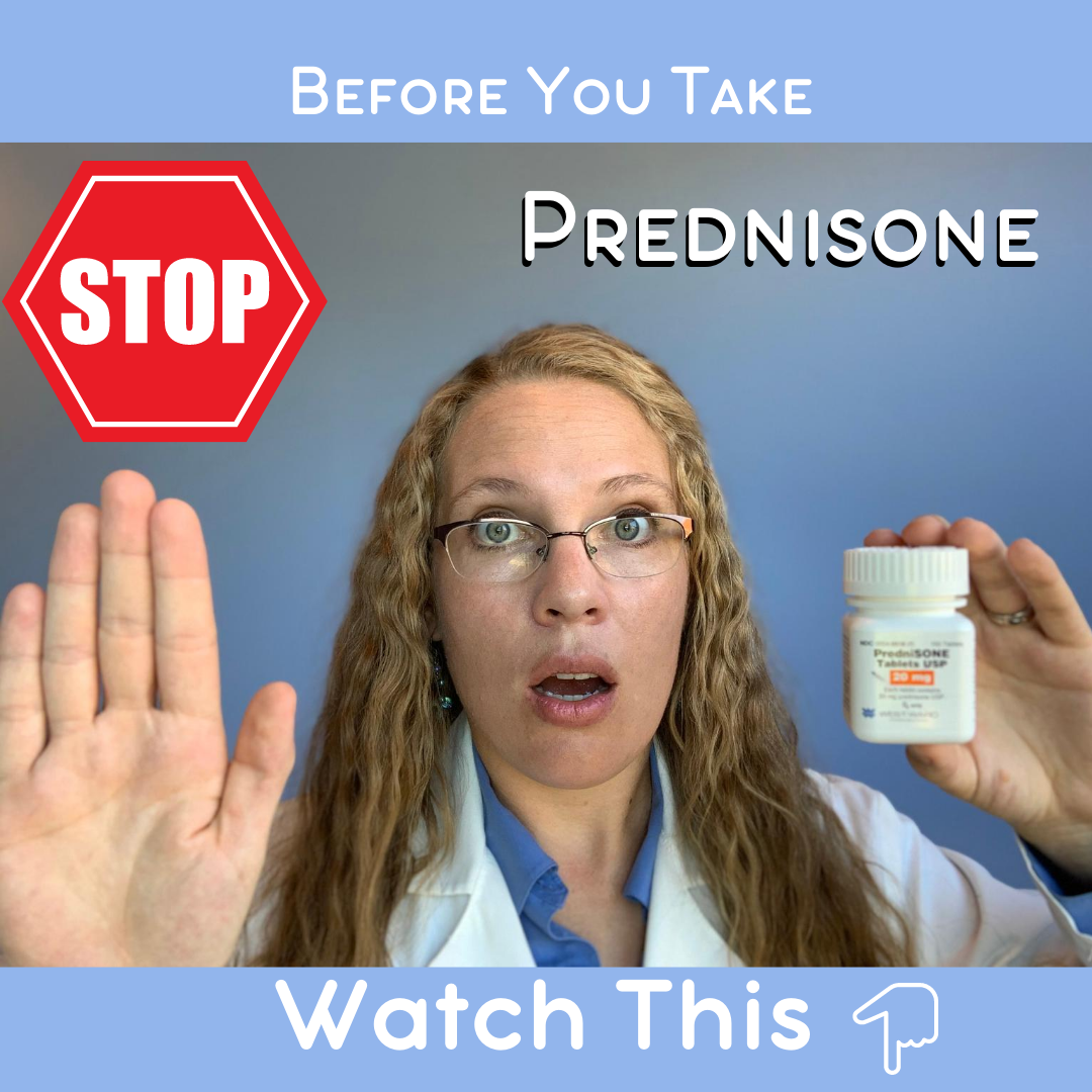 Before you take Prednisone, watch this 👉 (Prednisone Warnings)
