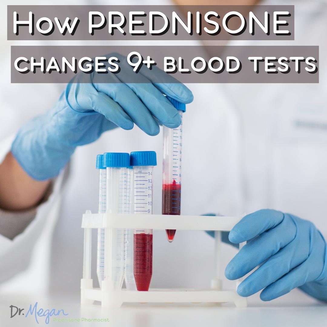 How Prednisone Side Effects Change 9+ Blood 💉 Tests